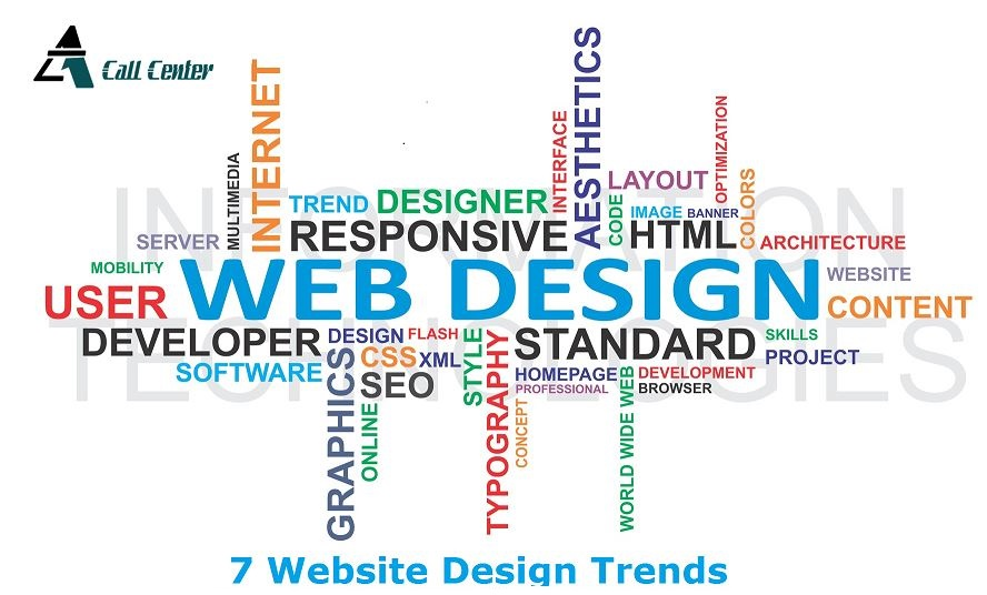 7 website design trends
